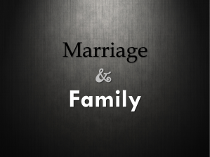 marriage-and-family